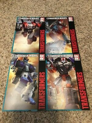 Transformers Combiner Wars Exclusive Comic Lot Blades First Aid Rook Streetwise