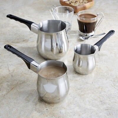 High Quality Stainless Steel Butter Warmer Coffee Milk Warmer Turkish Coffee Pot