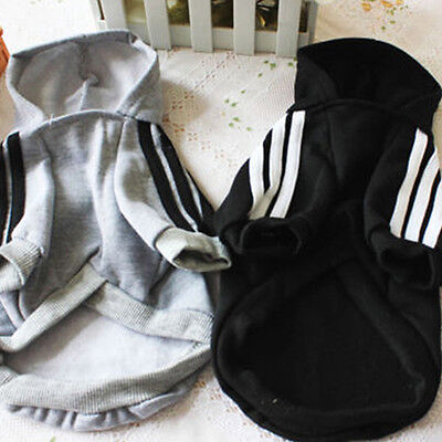 EG_ Pet Hoodie Coat Dog Jacket Winter Clothes Puppy Sweater Clothing Apparel Hea