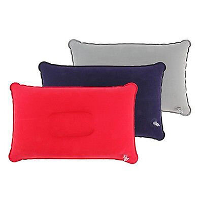 EG_ Inflatable Pillow Travel Air Cushion Camp Beach Car Plane Bed Sleep Rest Nov