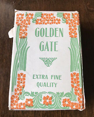 Unopened Antique Toilet Paper GOLDEN GATE 1906 San Francisco EarthQuake Package