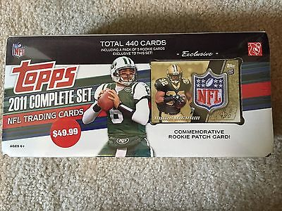 2011 Topps Football Card Complete Set, Never Opened, Rookie