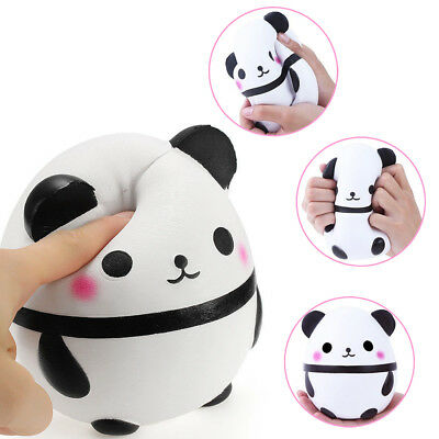 Squishy Jumbo Panda Egg Doll Cream Scented Squeeze Slow Rising Toy For Abreact