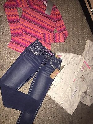 New Lot Of Girls Clothes Size 8