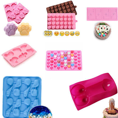 Silicone Ice Cube Candy Chocolate Cake Cookie Cupcake Soap DIY Mold Craft
