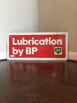 BP Lubrication Sign