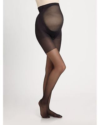 NEW Mama SPANX Maternity Full Lenght Pantyhose Black Size A $28