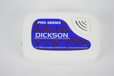 Dickson Temperature & Humidity Logger