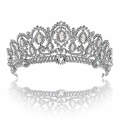 Crown Tiara YallFF Prom Queen Crown Quinceanera Pageant Crowns Princess Crown...