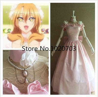 Love Stage!! Izumi Sena MV Wedding dress with necklace Cosplay Costume F008