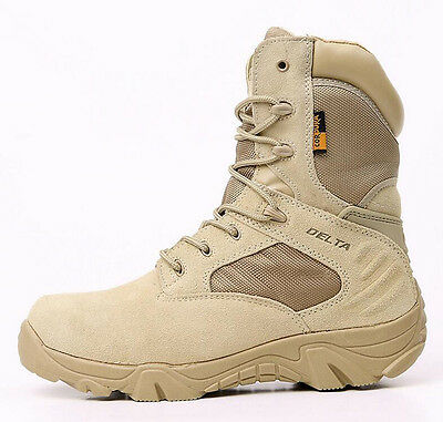 Army Hiking Shoes DELTA 511 Military Tactical Ankle Boots Cordura Desert Combat