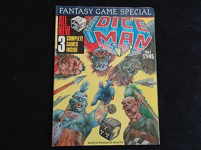 2000AD's Dice Man No 1 comic 1986 - RARE (LOT#1605)