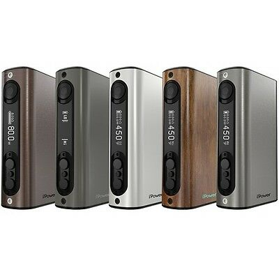 Cigarette electronique mod box clearomiseur ipower 80 w eleaf neuf