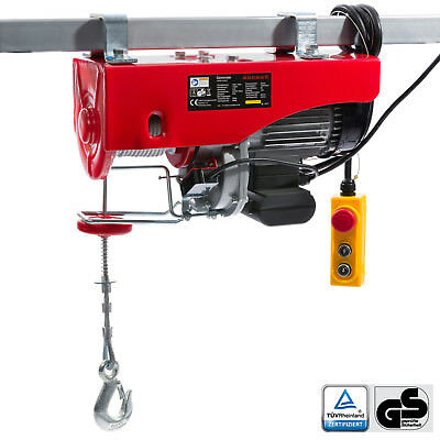 Electric Winch Hoist Lifting Engine Pulley Electric Wire Rope Winch 500/1000 kg