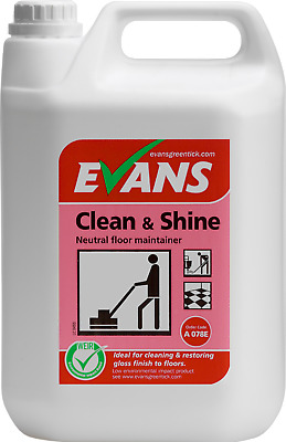 Evans Vanodine Clean and shine  - 5 Litres