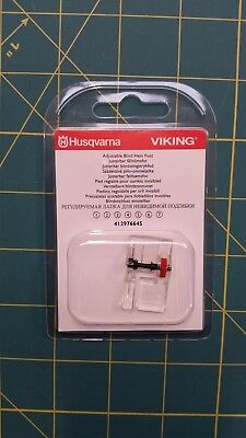 Husqvarna Viking Adjustable Blind Hem Foot 412976645 Fits all Viking machines