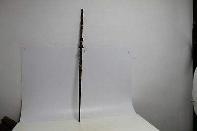 Antique Primitive Hand Carved Charming Distaff Wool Spindle For Hand Spinning