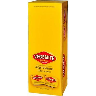 Vegemite - 90 X 4.8g Single Serve Portions | Spread Travel Size Sachet Packet