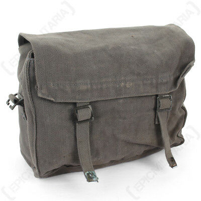 Original 37 Pattern Small Pack - Grey - Military Army Surplus Side Bag Haversack