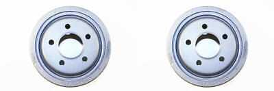 PAIR OF 2 PREMIUM REAR BRAKE DRUMS NEW SET KIT fits LEFT AND RIGHT SIDE