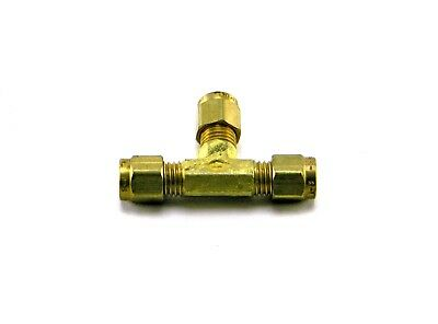 """New Fitting 1/8""""x1/8""""x1/8"""" Tube Compression Union Tee 164 C-2"""