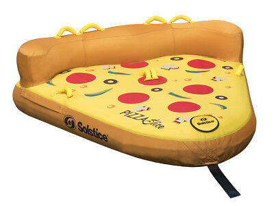 Solstice Water Sports Pizza Slice Towable with Dual Tow Point 1-2 Riders