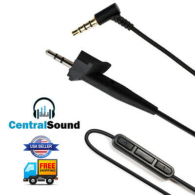Replacement Audio Cable Cord for Around-Ear AE2 AE2i AE2w w/ MIC Bose Headphones