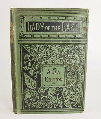 Alta Edition of Lady of the Lake, by Sir Walter Scott, illustrated engravings