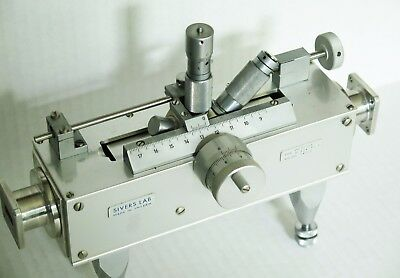 SIVERS WR62 WAVEGUIDE SLOTTED LINE TYPE PM7135P 12.4 - 18 GHz Ku BAND WITH CASE