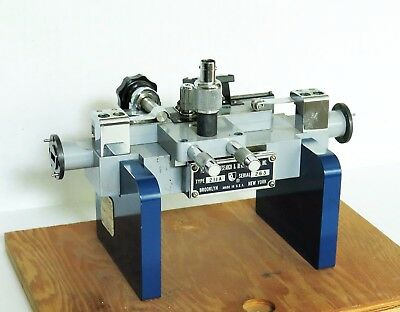 PRD WR 42 WAVEGUIDE SLOTTED LINE TYPE 211A 18 - 26.5 GHz K BAND: INCLUDING PROBE
