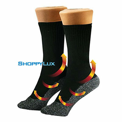 Aluminized Fibers Long Socks Keep Feet Dry And Warm Winter Sock Heat Insulation