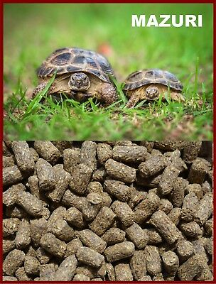 2 LBS. MAZURI TORTOISE LS DIET FOOD, SMALL PELLET - Tortoise Food,Turtle Food,