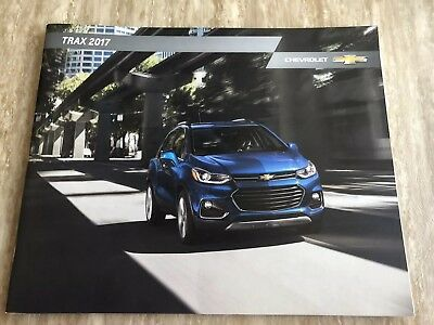 2017 CHEVY TRAX 22-page Original Sales Brochure
