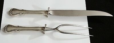 Towle Sterling French Provincial Meat Carving/Serving Set - No Mono FREE SHIP