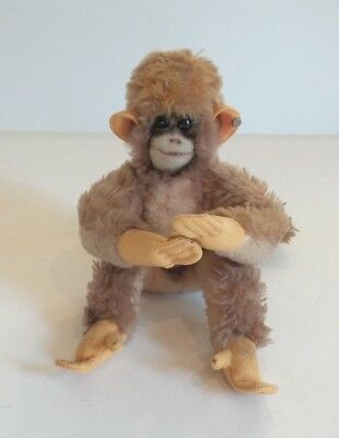 Vintage STEIFF Chimp / Monkey with Button in Ear