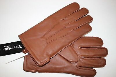 NWT BROOKS BROTHERS Size Small Men's Saddle 100% Leather THINSULATE Lined Gloves