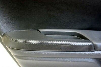 Rear Door Armrest Leather Synthetic Cover for Honda Civic 16-19 Black