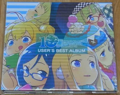 Sekaiju no MeiQ  Etrian Odyssey 10th Anniversary OST CD USER'S BEST ALBUM 2CD