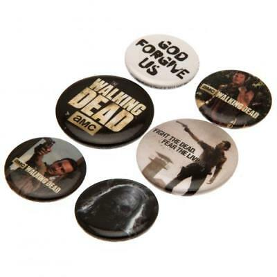 The Walking Dead Button Badge Set (football club souvenirs memorabilia)