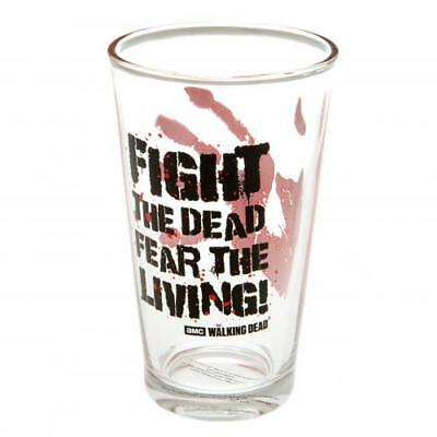 The Walking Dead Large Glass FTD (football club souvenirs memorabilia)