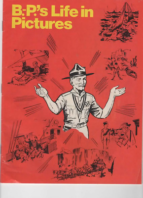 Boy Scouts of Canada B-P's Life in Pictures - The story of Baden Powell Comic