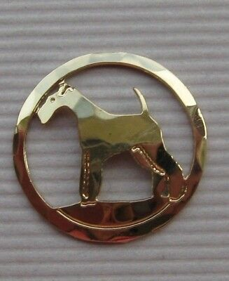 "Touchstone Jewelry, Small (1/2"") Smooth Fox Terrier Pin"