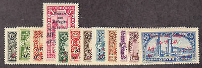 Syria - 1926 - SC B1-12 - H - complete set - B5 small thin