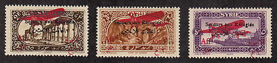 Syria - 1926 - SC CB1-3 - H - Short set - CB1 hinge thin