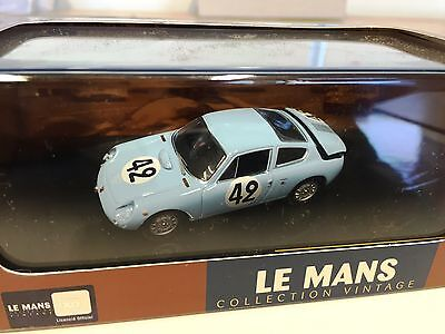 SIMCA Abarth 1300 #42 1962 1:43 IXO LE MANS COLLECTION DIECAST-LMC146