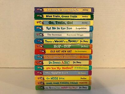Lot 15 Dr. Seuss Baby Toddler Bright and Early Beginner Board Books