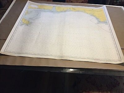 Vintage Nautical Chart - Cape St George to Mississippi Passes - C & GS 1115