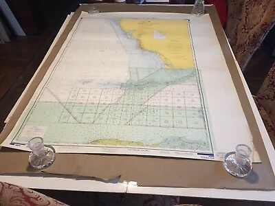 Vintage Nautical Chart - Operating Areas - Vicinity of Key West 5342-OA