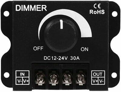 12v 24v 30a Dimmer by Power 720w Max Potentiometer Manual for LED Strip B6e3