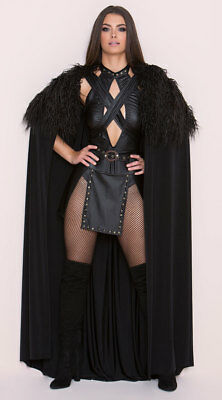 Game of Thrones Jon SEXY NORTHERN QUEEN COSTUME SJC100 S M L King Cosplay